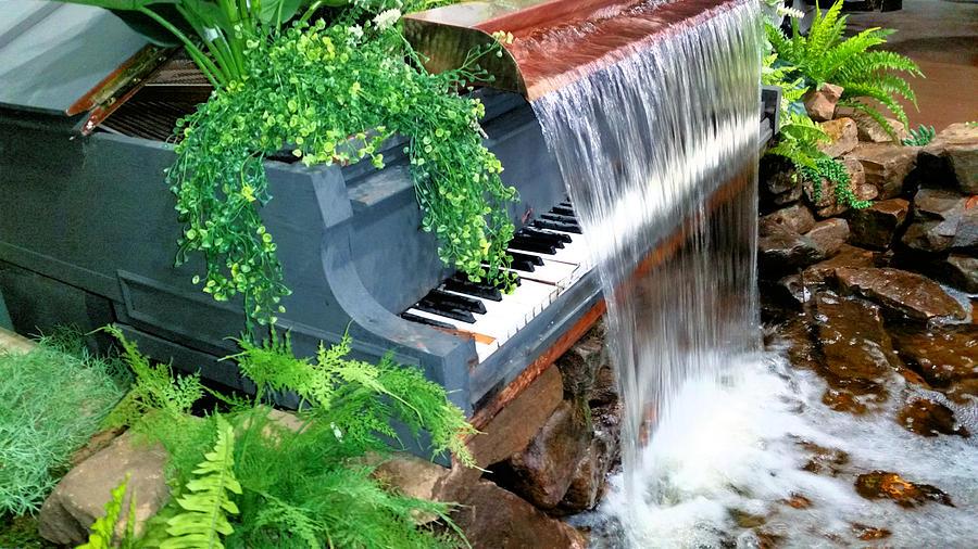 Piano Fountain Photograph