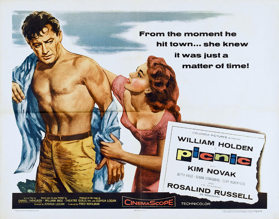 picnic, With William Holden And Kim Novak, 1955 Mixed Media