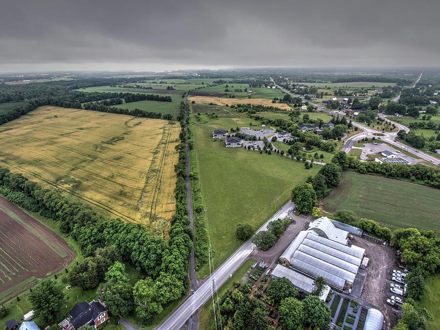 Picton Farmland Photograph by Eden Watt
