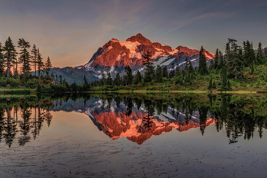 Picture Lake Washington Photograph