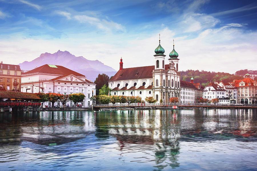Picturesque Lucerne Switzerland Photograph
