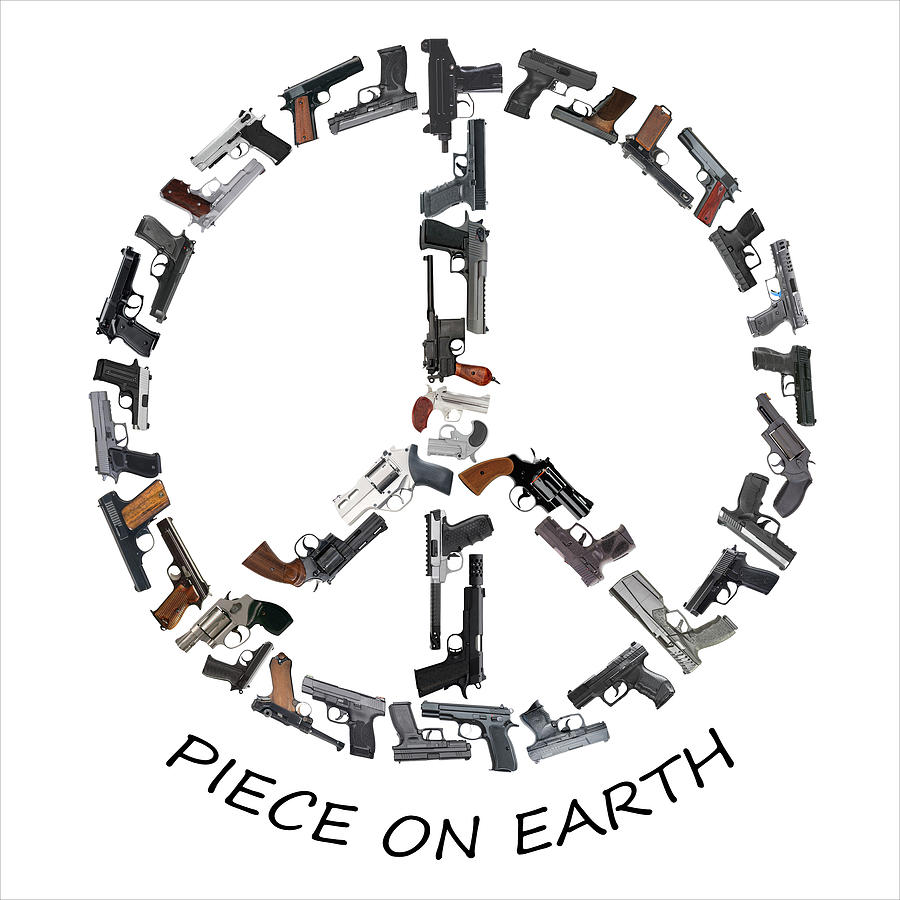 Piece On Earth Text Photograph