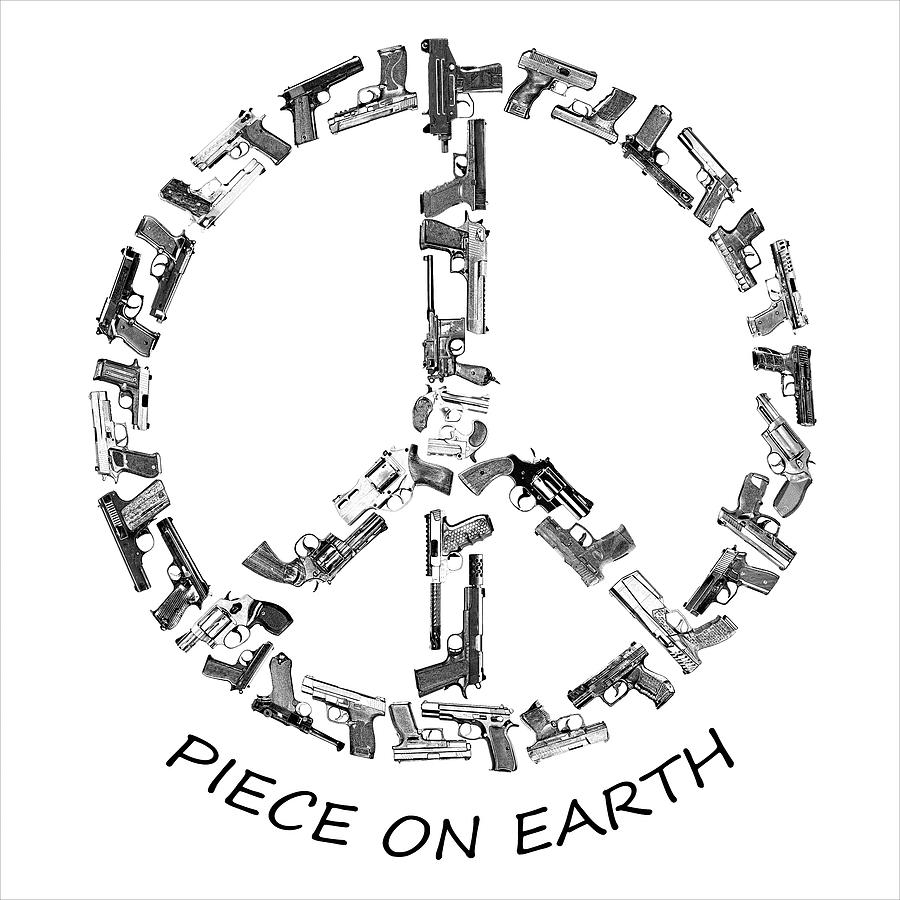 Piece on Earth Text Sketched by Jason Bohannon