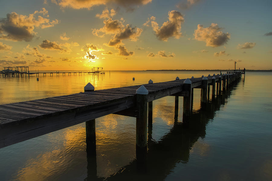 Pier at Sunset by Tim Stanley