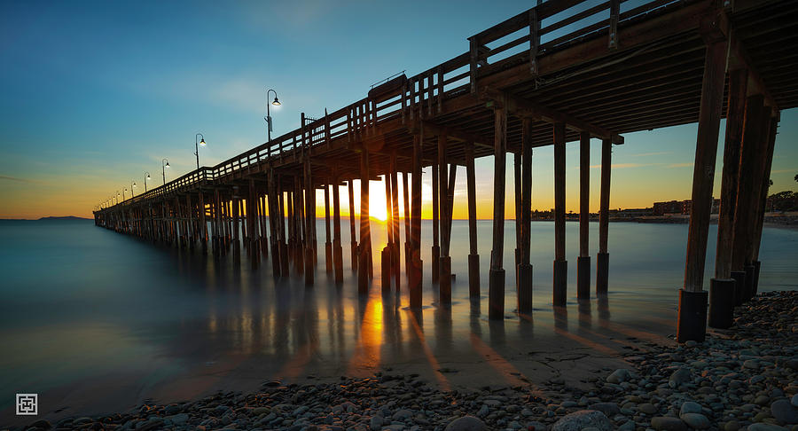 Pier Photograph - Pier Time Travel  by Tim Hungerford