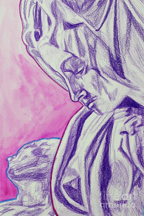 Pieta - Michelangelo Drawing