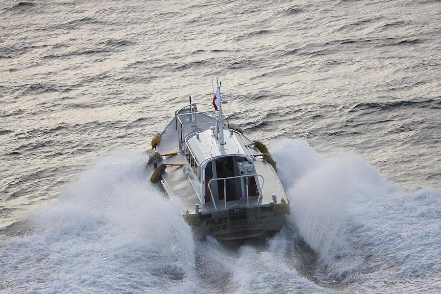 Pilot Boat No. 4 by Blair Damson