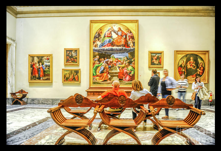 Vatican Museums Photograph - Pinacoteca Vaticana - vatican museums by Stefano Senise