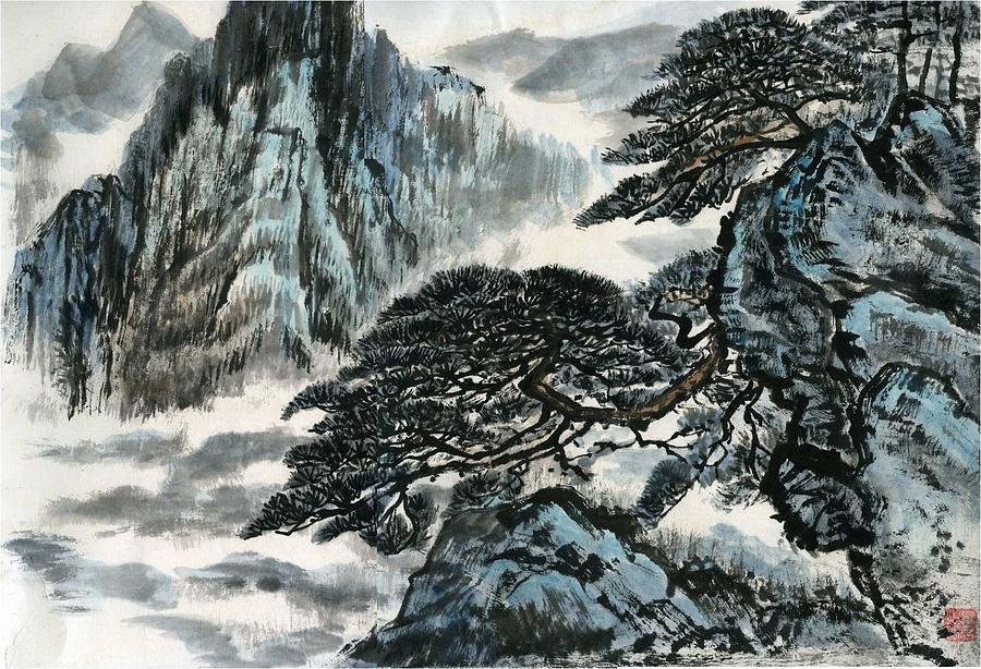 Pine tree by Ping Yan