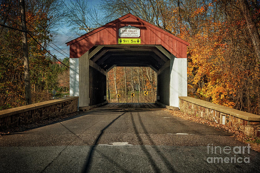 Pine Valley Covered Bridge by Debra Fedchin