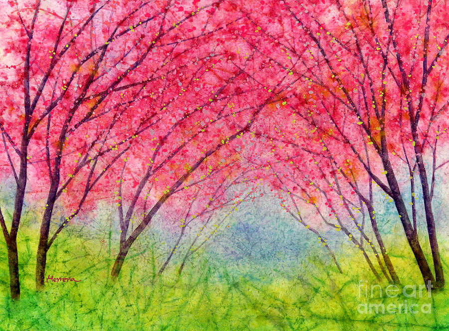 Pink Coral Painting