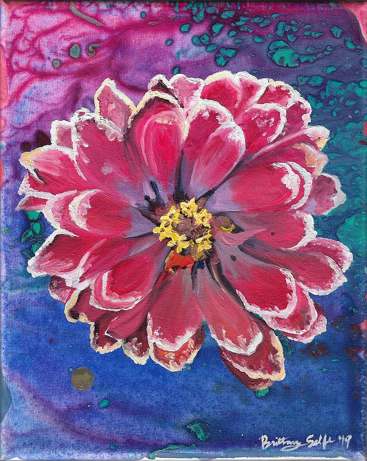 Pink Flower by Brittany Bert Selfe