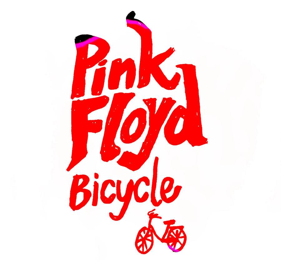 Pink Floyd Bicycle 1967 Drawing