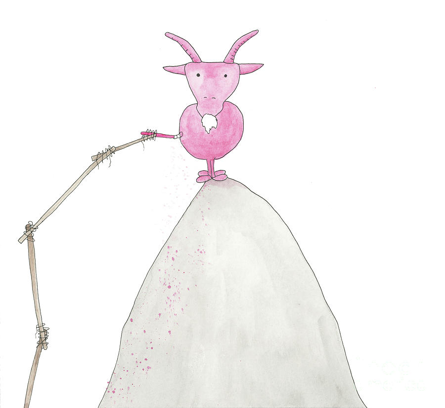 Pink Goat by Mike Mooney
