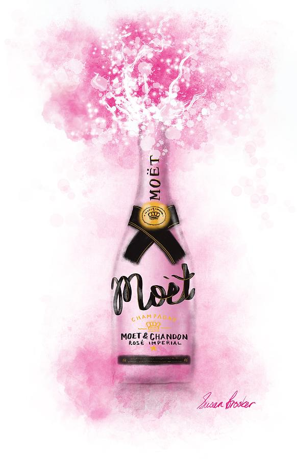 Pink POP Digital Art by Susan Brooker