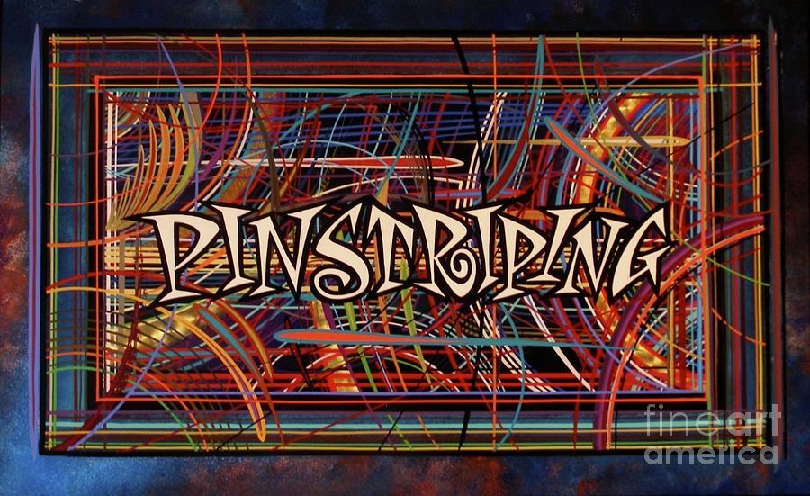 PINSTRIPING  by Alan Johnson