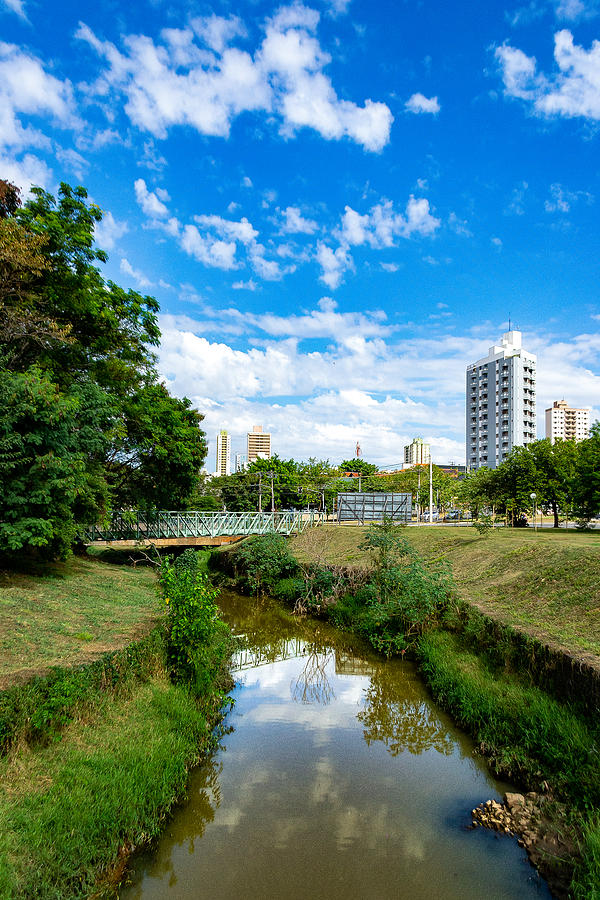 Piracicamirim Stream cuts through part of the city, sustaining beauty and life. Photograph by CRMacedonio