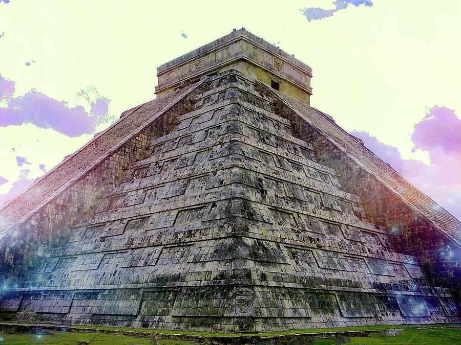 Piramide de Kukulkan de Colores by Kimberly-Ann Talbert