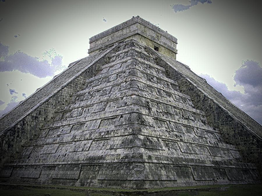 Piramide de Kukulkan by Kimberly-Ann Talbert