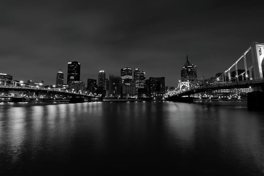 Pittsburgh Bw Photograph