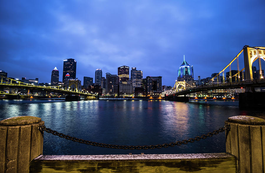 Pittsburgh From The Northshore 1 Photograph
