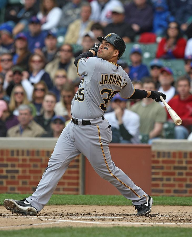 Pittsburgh Pirates v Chicago Cubs Photograph by Jonathan Daniel