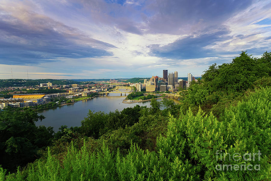 Pittsburgh Scenic View 1 Photograph
