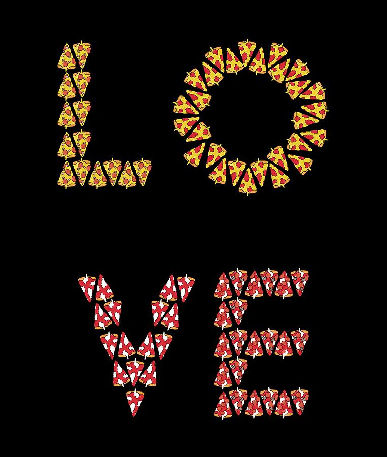Pizza Love by Andrea