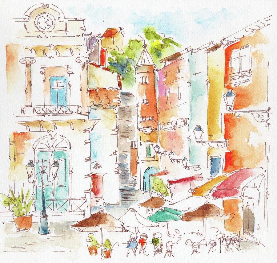 Place Du Change up Rue De La Loge Vieux Lyon by Pat Katz