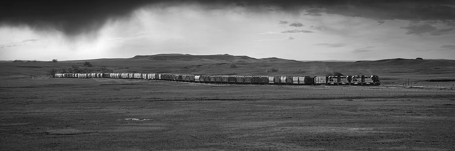 Plains Railroad Panorama Photograph