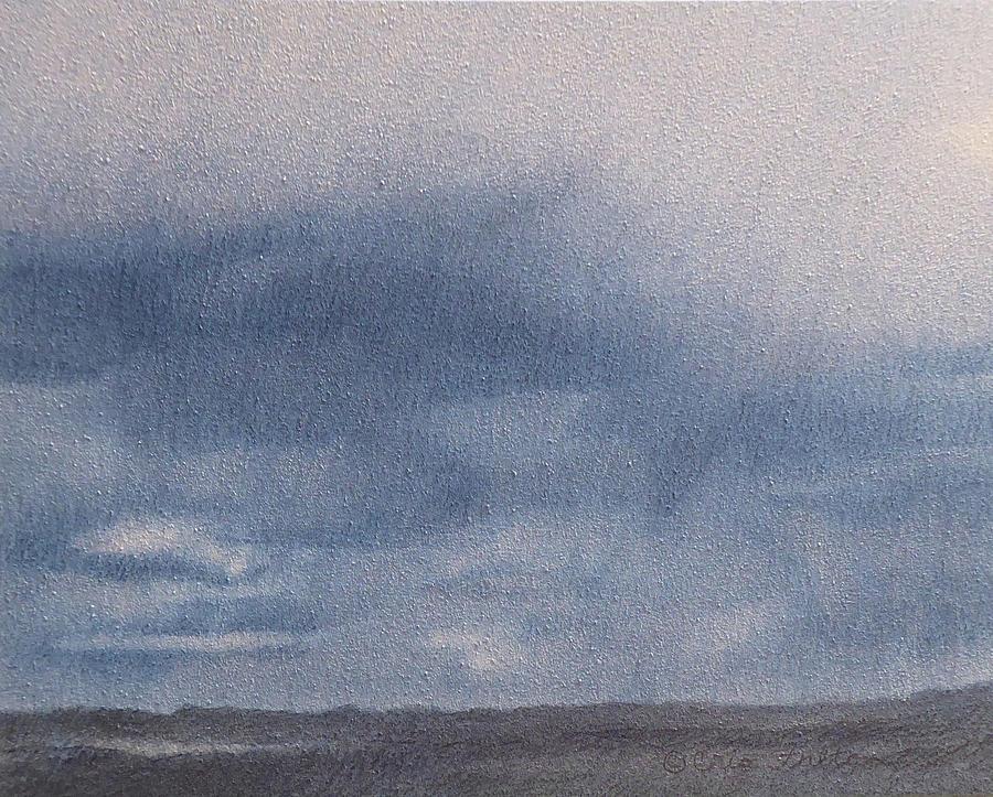 North Dakota Painting - Plainsrain by Cris Fulton