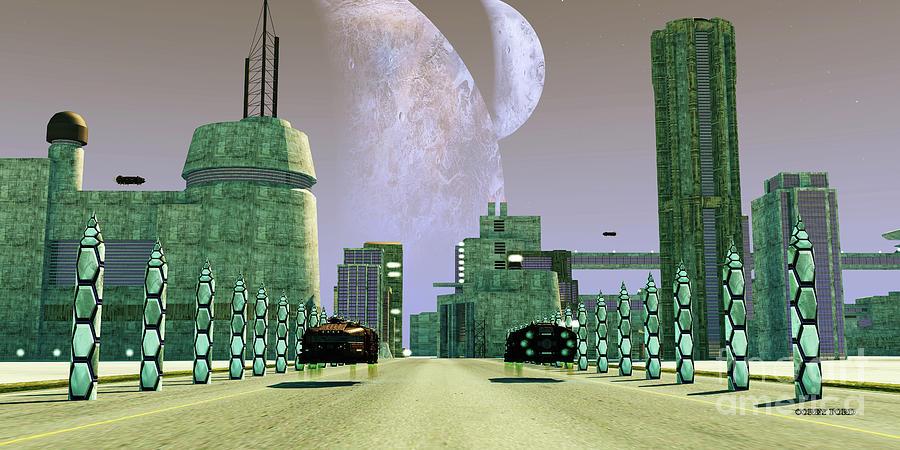 Planet Nemus Digital Art