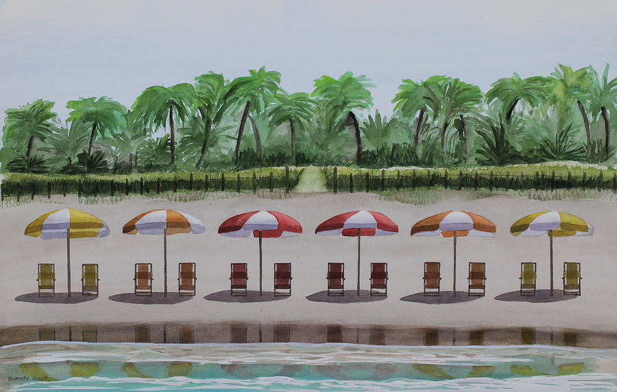 Beach Painting - Plantation Beach by Cory Clifford