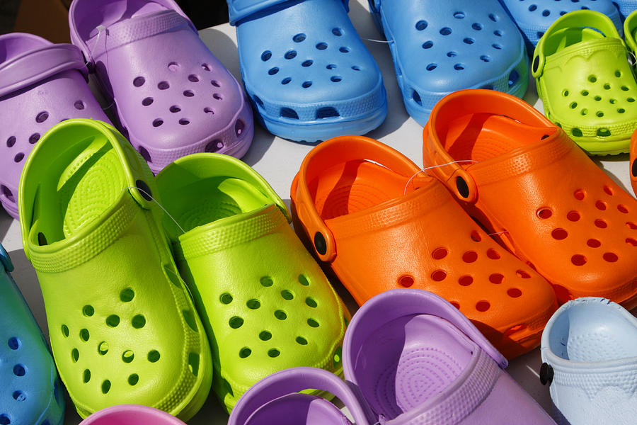 Plastic summer clogs Photograph by Lya_Cattel