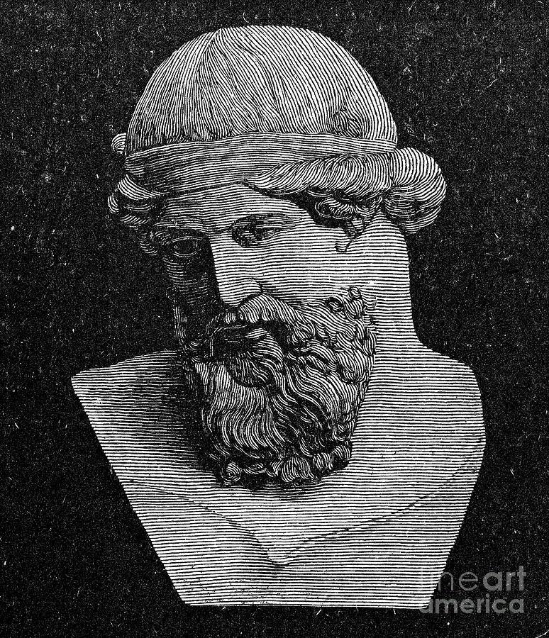 Plato Engraving by Granger