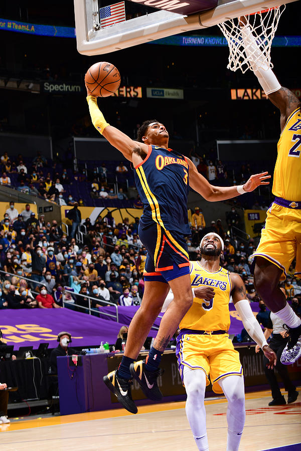 Play-In Tournament - Golden State Warriors v Los Angeles Lakers Photograph by Adam Pantozzi