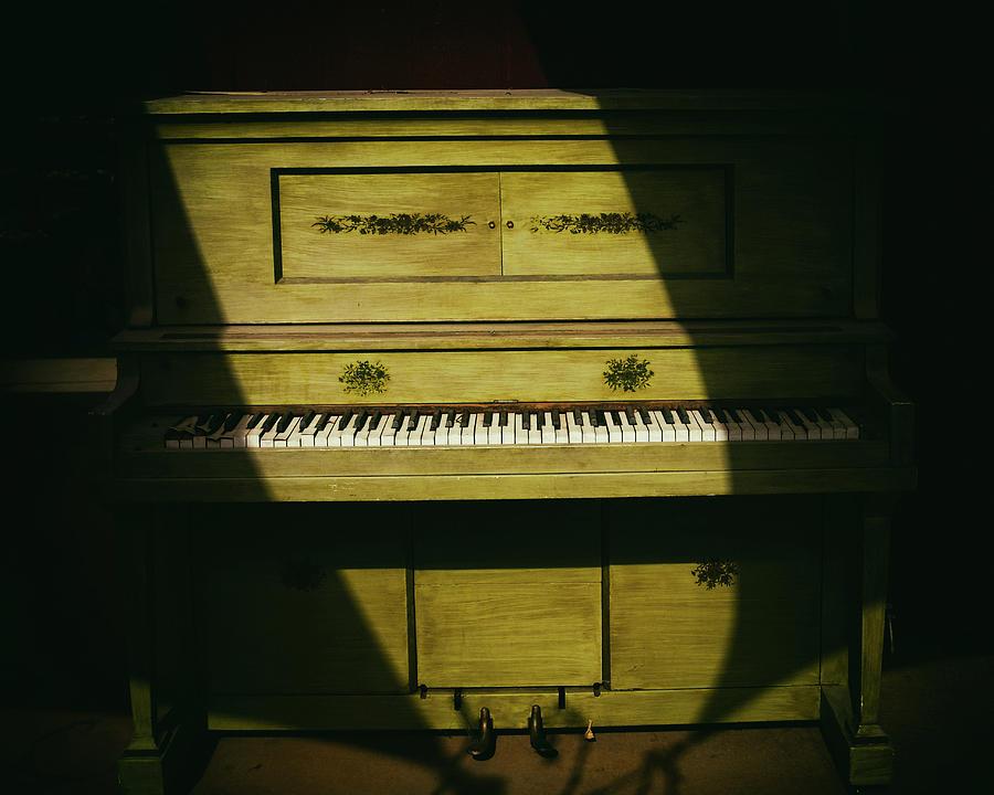 Ramona Photograph - Playerless Piano by Joseph Smith