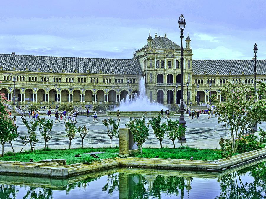 Plaza De Espana 3 - Seville Photograph