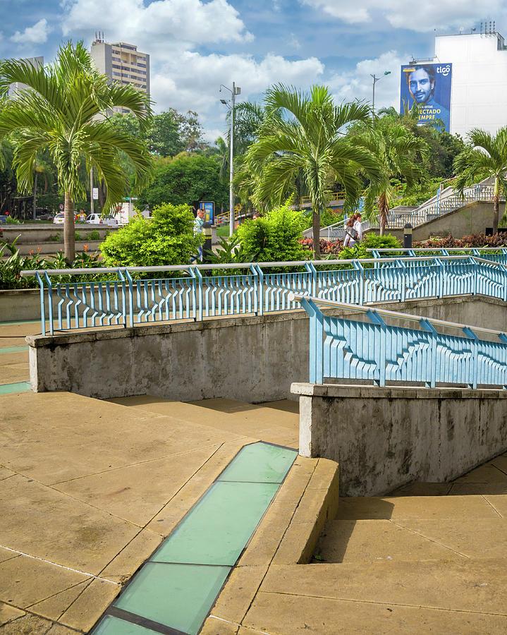 Plazoleta Jairo Varela Cali Valle del Cauca Colombia by Adam Rainoff