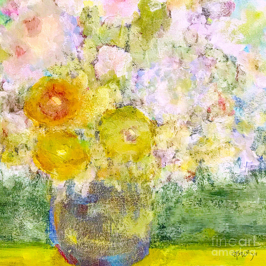 Still Life Painting - Pleasant Aura  by Wonju Hulse