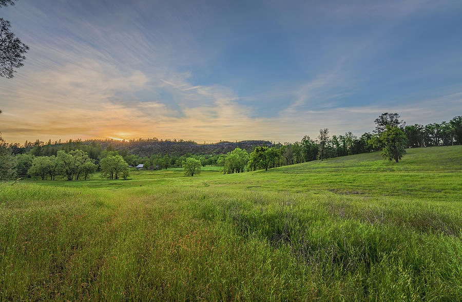 Placerville Photograph - Pleasant Evening in Pleasant Valley by Jonathan Hansen