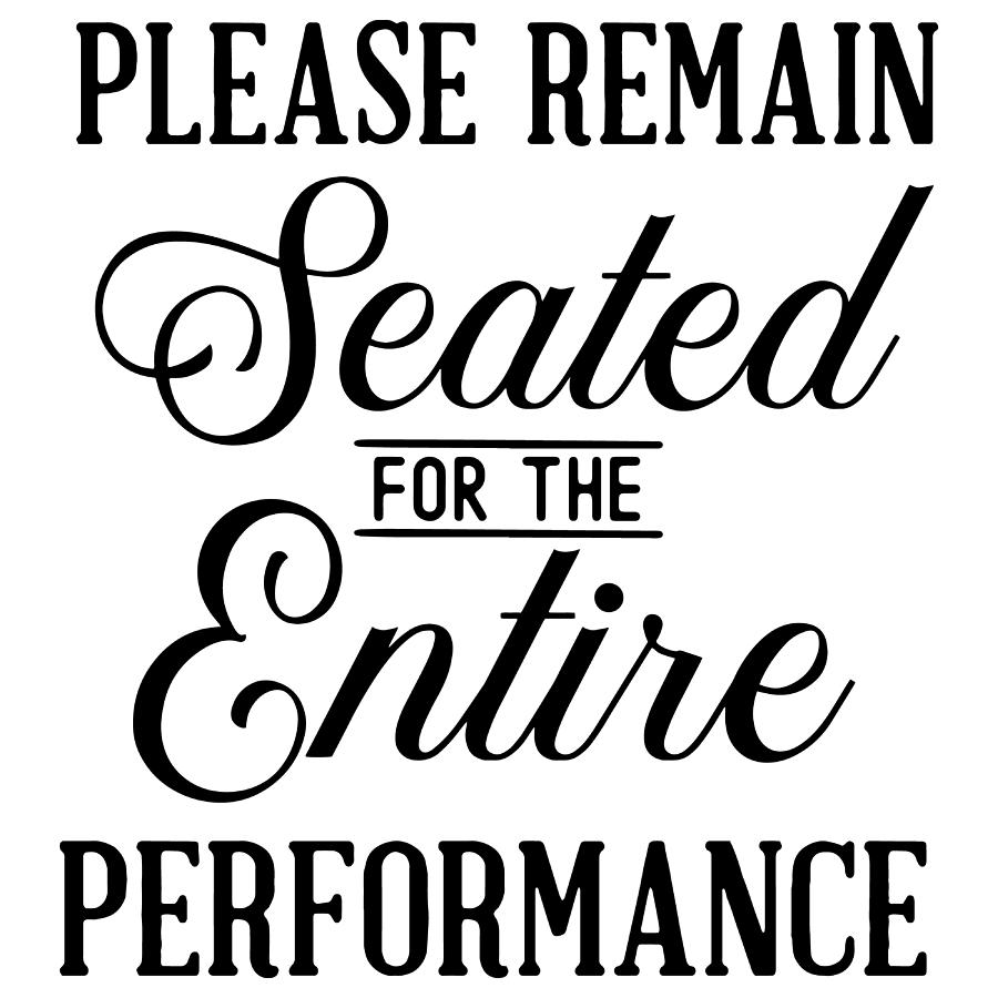 Please remain seated for the entire performance by Passion Loft