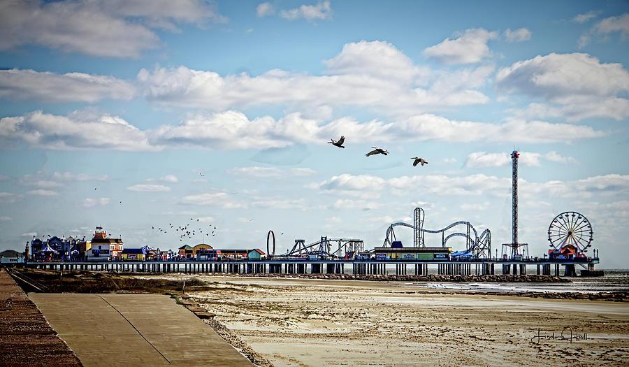 Pier Photograph - Pleasure Pier by Linda Lee Hall