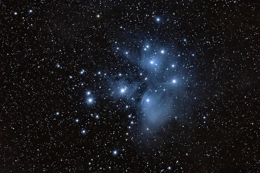 The Pleiades Photograph - Pleiades by Grant Glendinning