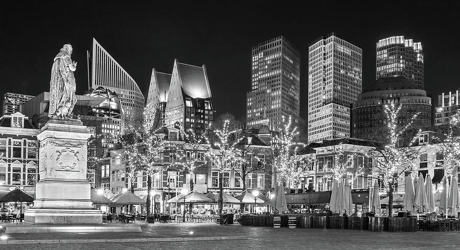 The Hague Photograph - Plein City Square in The Hague by Barry O Carroll