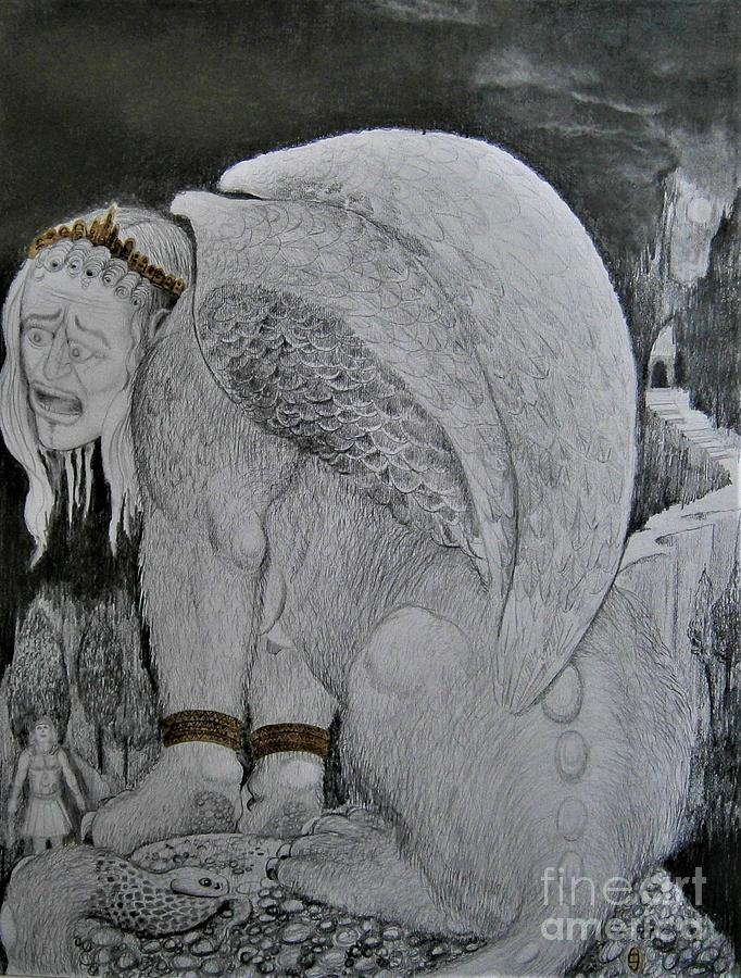 Plight Of The Sphinx by Balkishan Jhumat
