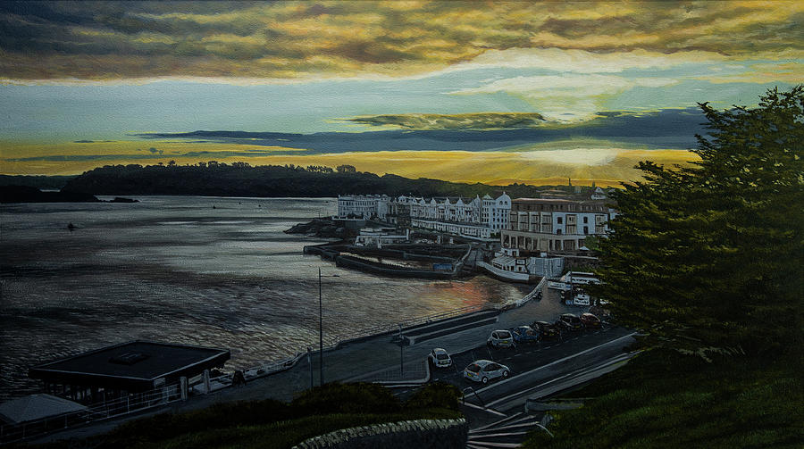 Plymouth Painting - Plymouth Sescape by Raymond Ore
