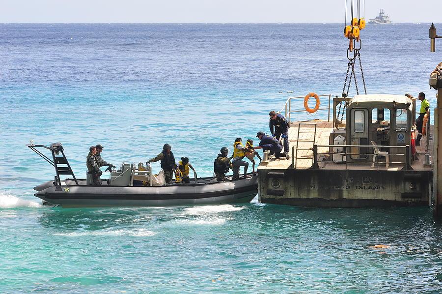 PM Rudd Announces Asylum Seeker Processing Deal With Nauru Photograph by Scott Fisher