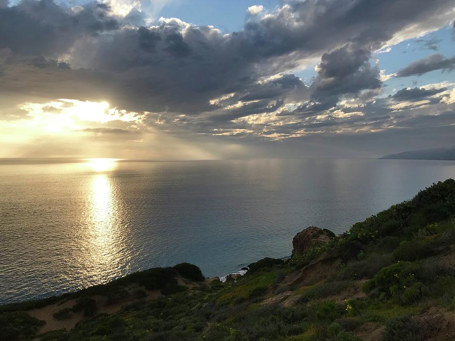 Point Dume Sunset Photograph