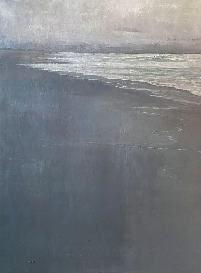 Point Reyes Painting by Mary Jo Van Dell